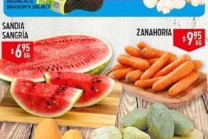 HEB folleto de frutas y verduras del 25 al 27 de Julio 2017