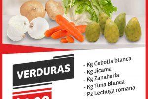 Frutas y Verduras Soriana Mercado del 4 al 6 de Julio 2017