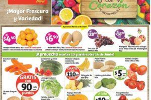 Frutas y Verduras Soriana 18 y 19 de Julio de 2017