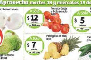 Frutas y Verduras Soriana 25 y 26 de Julio de 2017