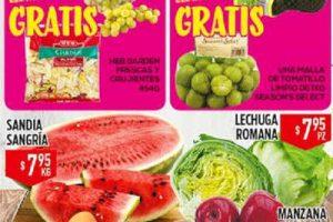 HEB folleto de frutas y verduras del 18 al 20 de Julio 2017