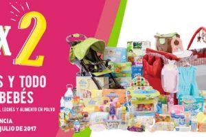 Julio Regalado 2017 3×2 en pañales y todo para bebés del 5 al 8 de julio