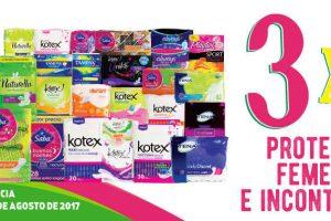 Julio Regalado 2017: 3×2 en protección femenina e incontinencia