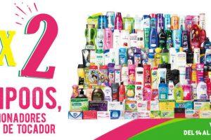 Julio Regalado 2017 3×2 en Shampoos, Acondicionadores y Jabones de Tocador
