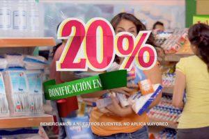 Julio Regalado 2017 20% de bonificación en farmacia del 3 al 6 de julio