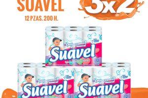 La Comer Temporada Naranja 3×2 en papel Cottonelle, Pétalo y Suavel