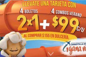Promociones Verano Cinemex 2×1 en boletos y combos de verano a $99