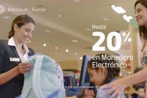 Regreso a Clases Fábricas de Francia Hasta 20% en Monedero Electrónico en Ropa y Artículos Escolares