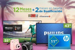 Sams Club 12 meses sin intereses y 2 de bonificación con Citibanamex del 7 al 10 de Julio