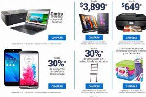 Soriana Regreso a Clases Gratis Impresora o Bocina Comprando Computadora o Celular