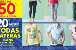 Suburbia hasta 50% de descuento + 20% adicional en playeras y jeans