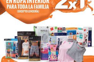 Temporada Naranja La Comer 2×1 en ropa interior del 21 al 27 de julio