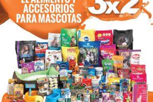 Temporada Naranja La Comer 3×2 en alimento y accesorios para mascotas del 17 al 23 de Julio