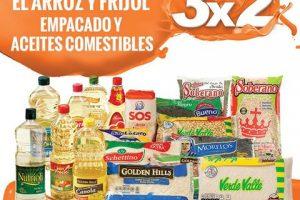 Temporada Naranja La Comer 3×2 en Frijol, Arroz Empacado y Aceites