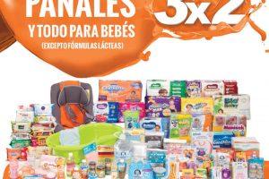Temporada Naranja La Comer 3×2 en Pañales y Todo Para Bebés del 5 al 11 de Julio
