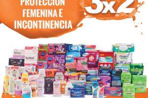 Temporada Naranja La Comer 3×2 en Protección Femenina e Incontinencia