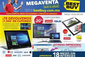 Folleto de ofertas Best Buy Megaventa al 23 de agosto