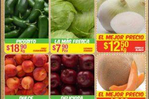 Bodega Aurrera frutas y verduras tiánguis de mamá lucha del 4 al 10 de agosto