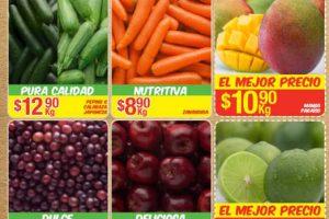 Bodega Aurrera frutas y verduras tiánguis de mamá lucha del 11 al 17 de agosto