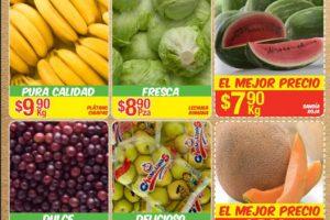Bodega Aurrera frutas y verduras tiánguis de mamá lucha 18 al 24 de agosto