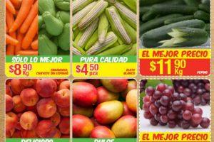 Bodega Aurrera frutas y verduras tiánguis de mamá lucha 25 al 31 de agosto