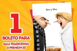 Cinemex Boletos a $20 Funciones Matinée Transformers y Mi Villano Favorito 3
