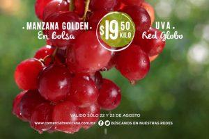 Comercial Mexicana frutas y verduras del campo 22 y 23 de Agosto 2017
