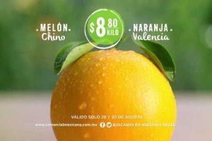 Comercial Mexicana frutas y verduras del campo 29 y 30 de Agosto 2017