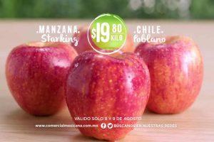 Comercial Mexicana Ofertas de Frutas y Verduras del 8 y 9 de Agosto 2017