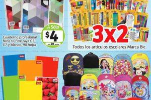 Folleto Soriana Mercado Regreso a Clases del 11 al 24 de Agosto 2017