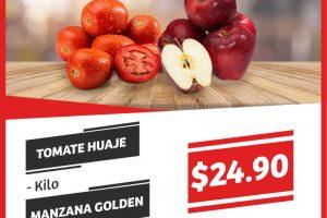 Frutas y Verduras Soriana Mercado del 22 al 24 de Agosto 2017