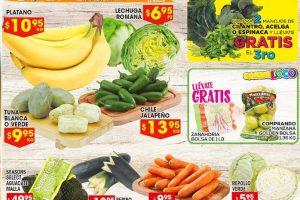 HEB Folleto de Frutas y Verduras del 15 al 21 de Agosto 2017
