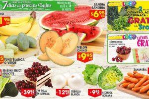 HEB Ofertas de Frutas y Verduras del 8 al 14 de Agosto 2017