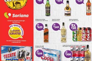 Jueves Cervecero Soriana 10 de Agosto de 2017
