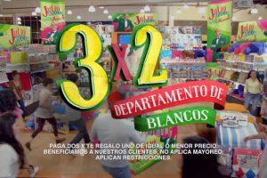 Julio Regalado 2017 3x2 en departamento de blancos del 2 al 5 de Agosto