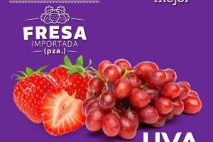 La Comer Frutas y Verduras Miércoles de Plaza 9 de Agosto 2017