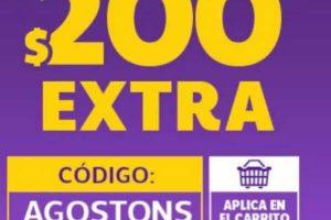 Netshoes Cupón de $200 de Descuento al 25 de agosto