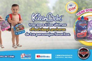 Promoción Puntos KleenBebe Huggies mochilas y loncheras Disney