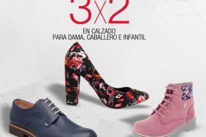 Sears 3×2 en zapatos de dama, caballero e infantil del 16 al 21 de agosto