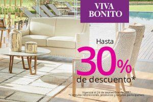 Viva Bonito Liverpool hasta 30% de descuento en muebles, tecnología y más