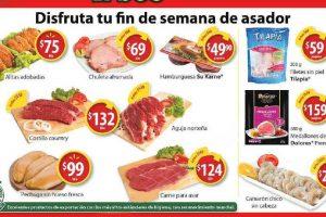 Walmart Ofertas Fin de Semana de Carnes, Frutas y Verduras del 4 al 6 de Agosto