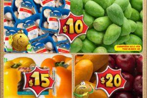 Bodega Aurrera frutas y verduras tiánguis de mamá lucha al 5 de octubre 2017