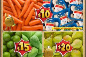 Bodega Aurrera frutas y verduras tiánguis de mamá lucha 18 al 22 de septiembre