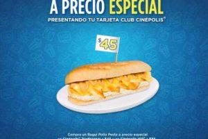 Cinépolis Nachos Grandes o Bagui Pollo Pesto a $45 Socios Cinepolis