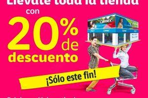 Comex 20% de descuento en toda la tienda al 1 de octubre 2017