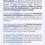 Farmacias del Ahorro consultas y medicamentos gratis para los damnificados del sismo
