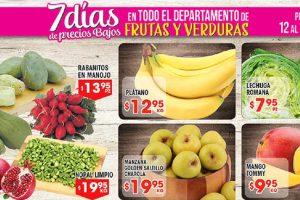HEB folleto de frutas y verduras del 12 al 18 de Septiembre 2017