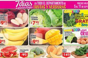 HEB folleto de frutas y verduras 5 al 11 de septiembre 2017