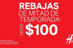 H&M rebajas de mitad de temporada ropa desde $100