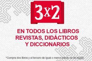Office Depot 3×2 en todos los libros, revistas, didácticos y diccionarios